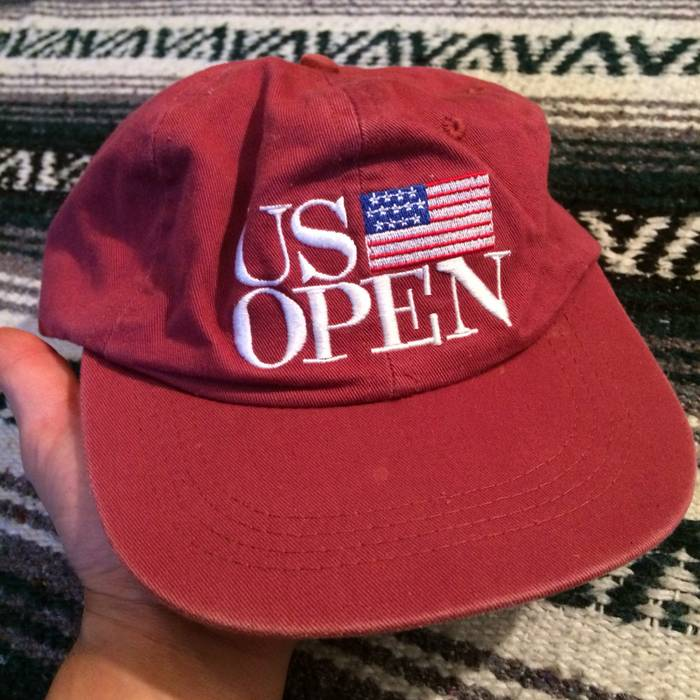 Vintage Vintage 1997 US Open Congressional Golf Tournament Strapback Dad Hat  Washington DC VTG PGA USA 70cf9f32116
