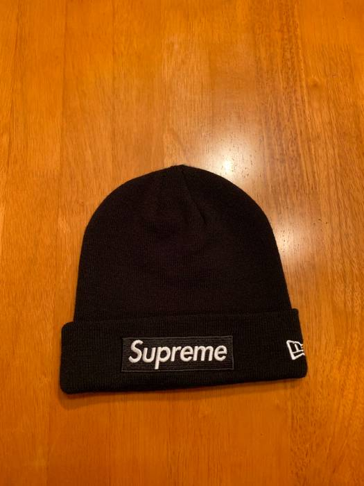 87b2b2671f2 Supreme Supreme New Era Box Logo Beanie (FW18) Black Size one size ...