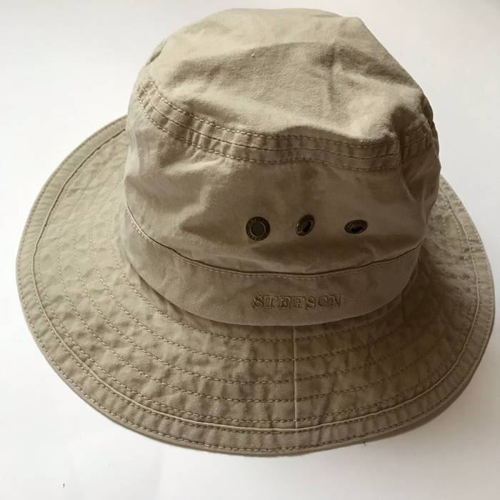 Stetson STETSON Organic Cotton Bucket Hat Size one size - Hats for ... d73da1349db