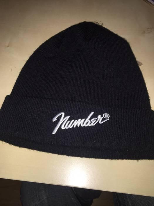 Number (N)ine Number (n)ine Fender Logo Beanie Size one size - Hats ... 1df93c45944d