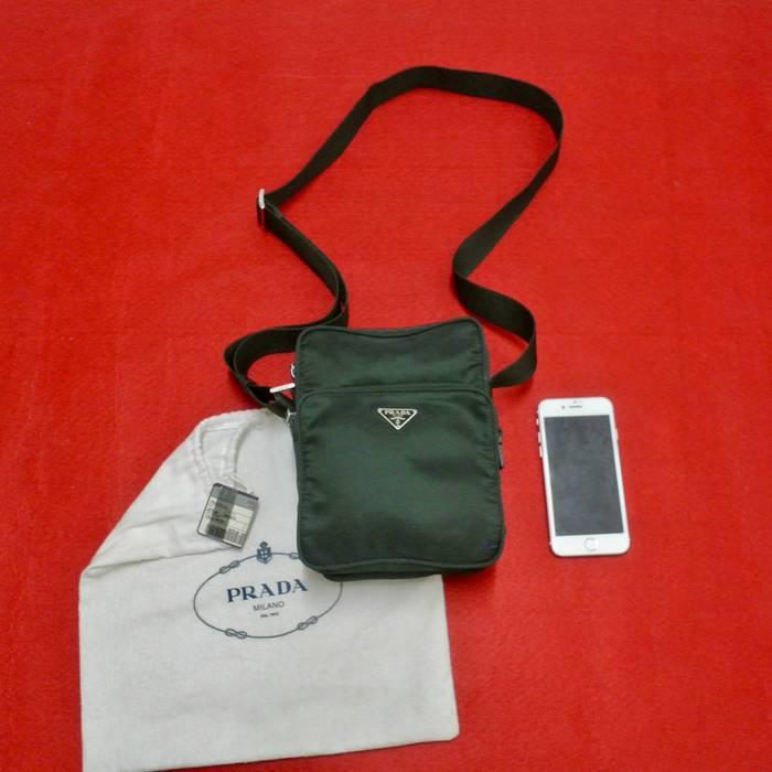 7ba029c73399 Prada Prada Unisex Nylon Messenger Crossbody Bag Size one size ...