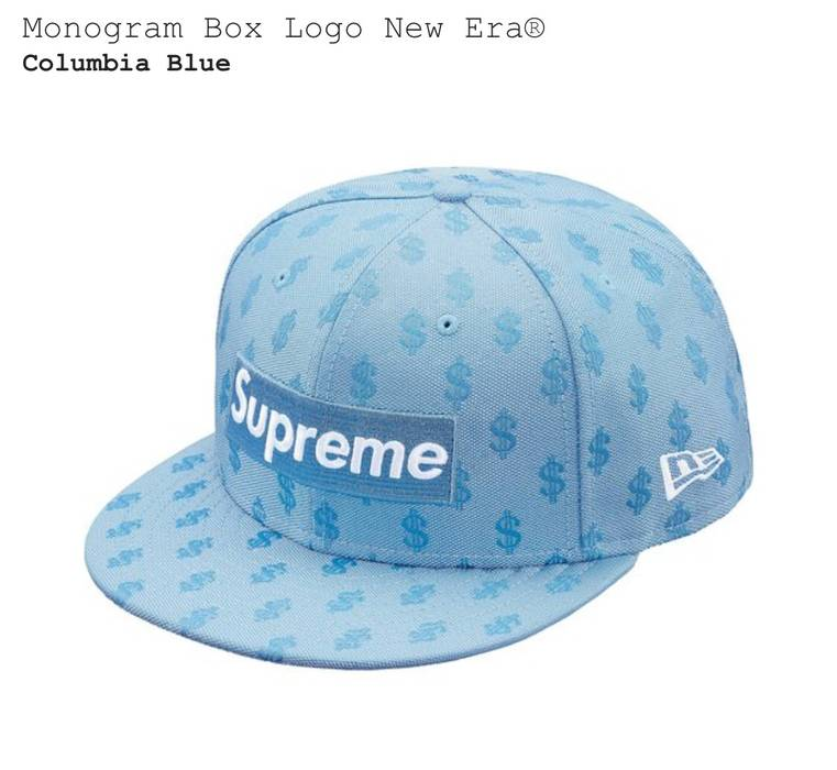 Supreme 7 1 4 Supreme Monogram Box Logo New Era Hat Size one size ... 71bcdfaaba09