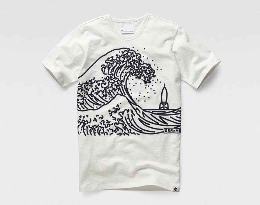 7a5907ce06 G Star Raw MARC NEWSON WAVE T-SHIRT Size m - Short Sleeve T-Shirts ...