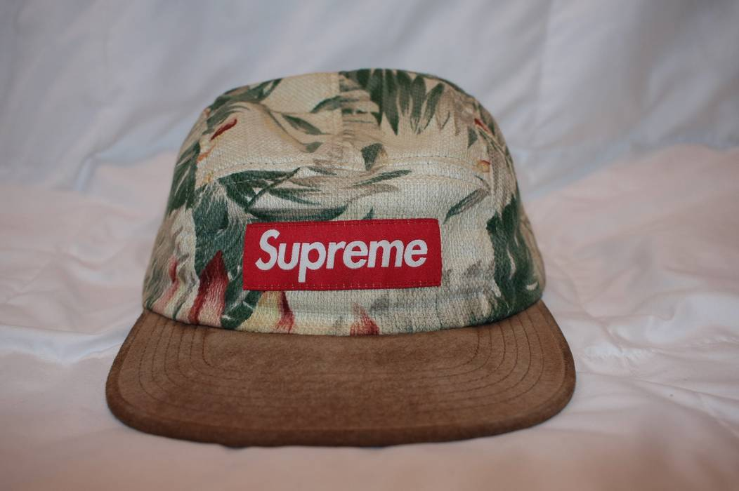 Supreme Supreme Floral Camp Cap Size one size - Hats for Sale - Grailed e467ddc0411