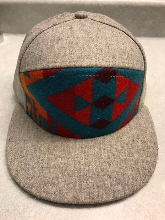 Kith Nyc Grey Pendleton Wool Snapback Hat Size one size - Hats for ... afde2fd01c7f