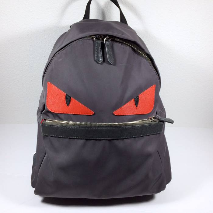 44e3698afd5e Fendi Monster Nylon Backpack