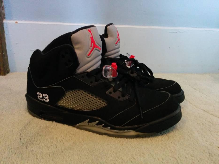 5a7deba9b674 Nike. Air Jordan 5 Black