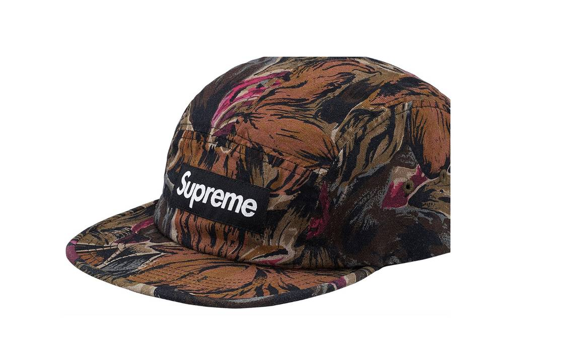 Supreme supreme floral camp cap Size one size - Hats for Sale - Grailed 416d2951ab3