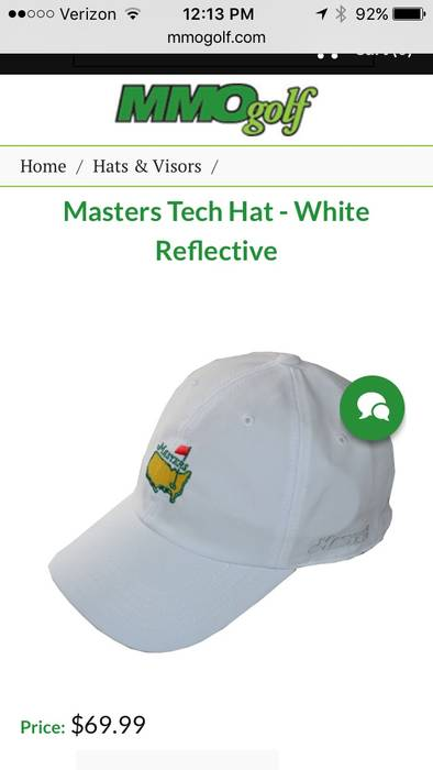 American Needle Golf Masters Hat Size one size - Hats for Sale - Grailed df11399f5ce