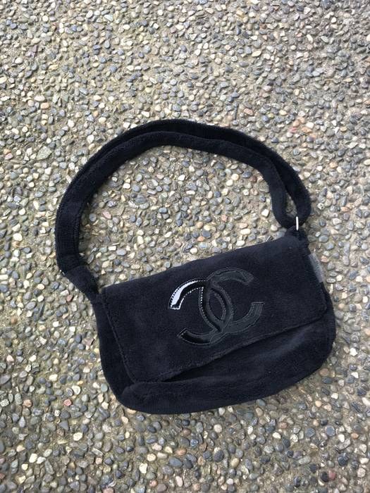 Chanel VIP Gift Black Plush Bag Size one size - Bags   Luggage for ... c3c53e1b65154
