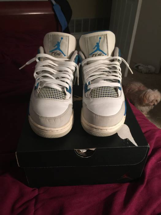 09a4618f37e8d4 Jordan Brand Military Blue 4s Size 9 - for Sale - Grailed