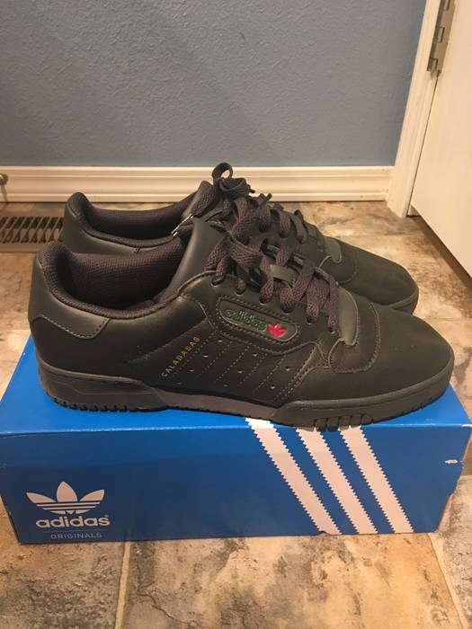 3748f7471 Adidas Kanye West Adidas Yeezy Powerphase Black US 9 Size 9 - Low ...