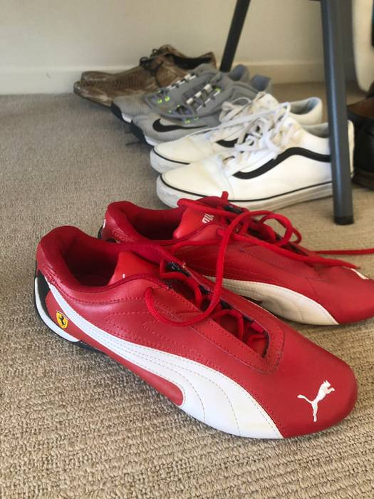 Puma red Ferrari x puma sneakers Size 9.5 - Low-Top Sneakers for ... 0ef625fab358