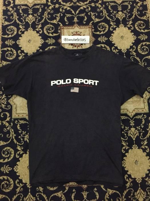 Polo Ralph Lauren Vintage Polo Sport Ralph Lauren Spellout tshirt Size US M    EU 48 25cefc117c023