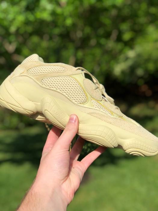 Adidas Adidas Yeezy 500 Super Moon Yellow Size 14 Low Top Sneakers