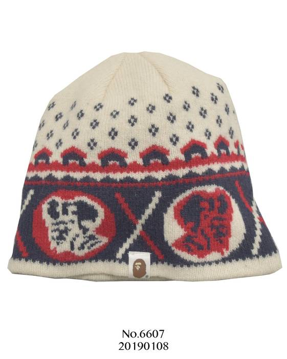 Bape BAPE   Jacquard Knit Cap Beanie Size one size - Hats for Sale ... 4d5b385a142