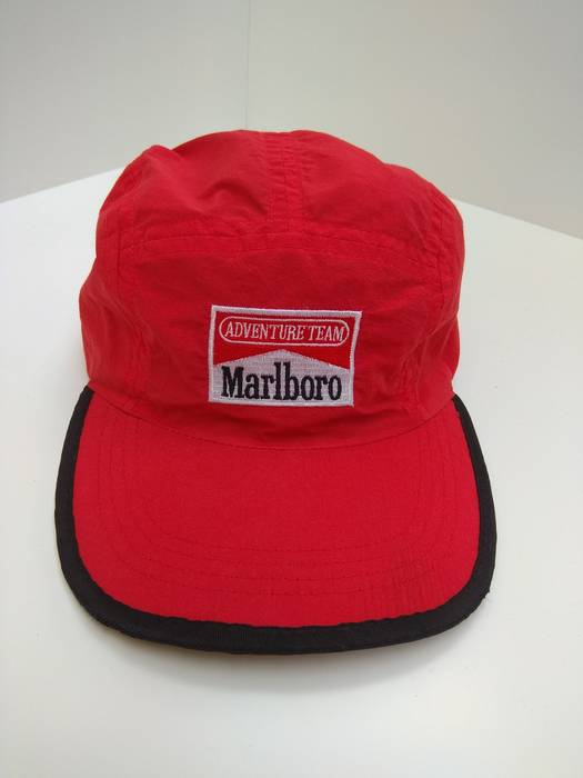 Vintage Marlboro Adventure Team 5 panel Hat Cap Size one size - Hats ... 50a72fe49bc