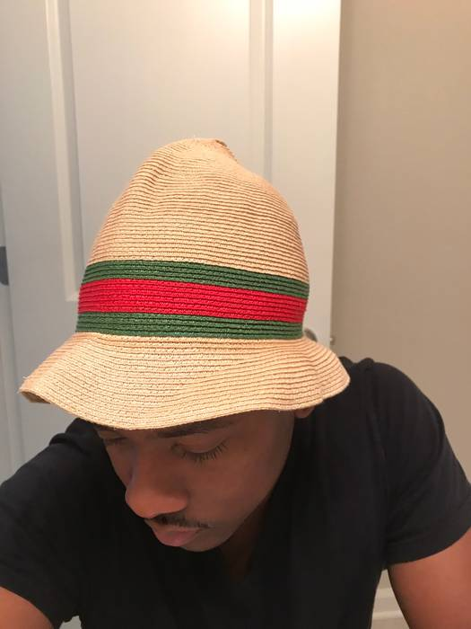 Gucci Gucci Fedora Straw hat Size one size - Hats for Sale - Grailed 389be2e4e622