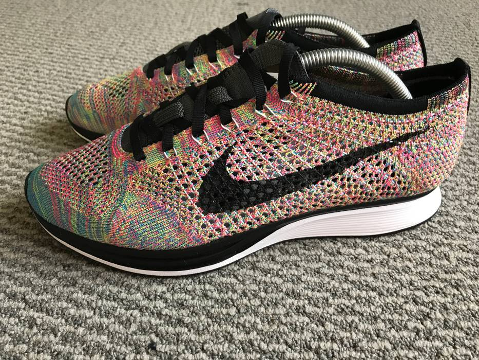 a6ea245f78ad Nike Nike Flyknit Racer Multicolor v3 Size 9.5 - Low-Top Sneakers ...