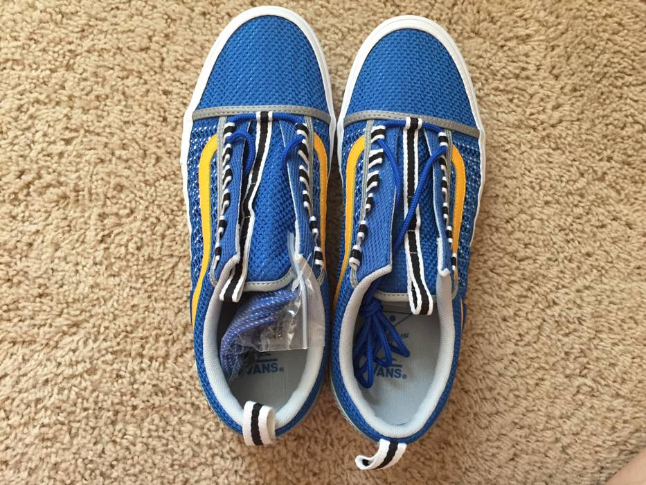 5670c5c749b Vans Vans X Alltimers Mesh Blue And Yellow Sold Out Skate Size US 10   EU