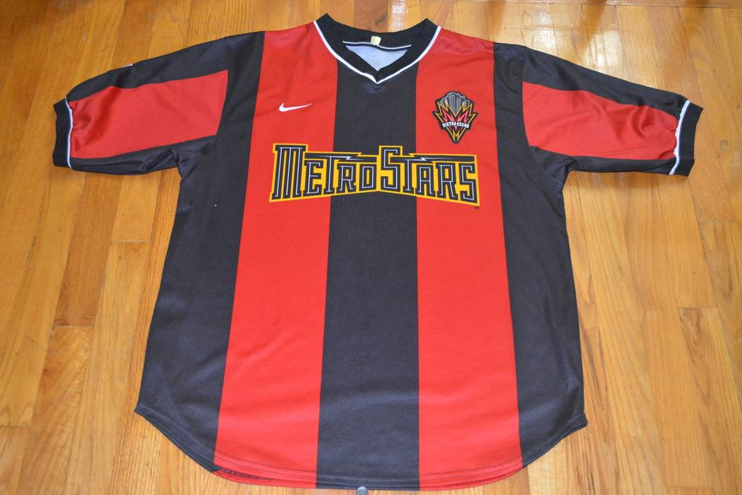 Nike New York Metro Stars jersey Size l - Jerseys for Sale - Grailed 5987d1490