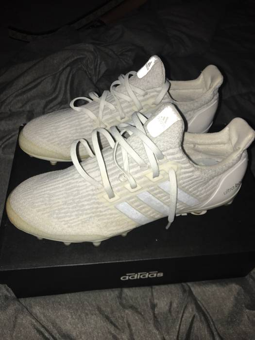 f2b201b728844 Adidas Adidas Ultra Boost Cleats Triple White Size 10.5 - Low-Top ...