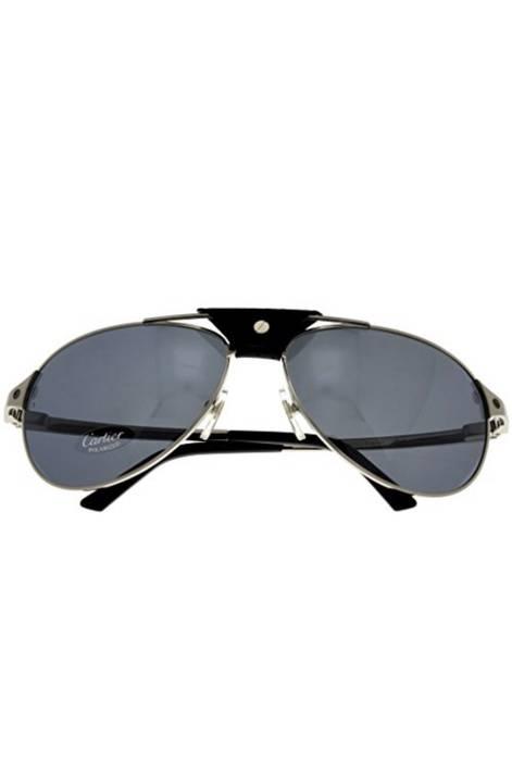 124e428267 Cartier Cartier Santos-Dumont Sunglasses T8200908 Aviator Polarized Size  ONE SIZE - 2