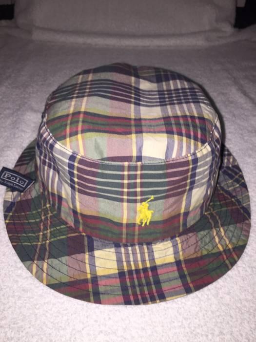 467a0f0b7b2 Polo Ralph Lauren Polo Blue Label Reversible Bucket Hat Size one ...