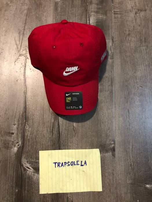 Nike Kendrick Lamar x Nike Damn Hat Red Size one size - Hats for ... 62894c12736