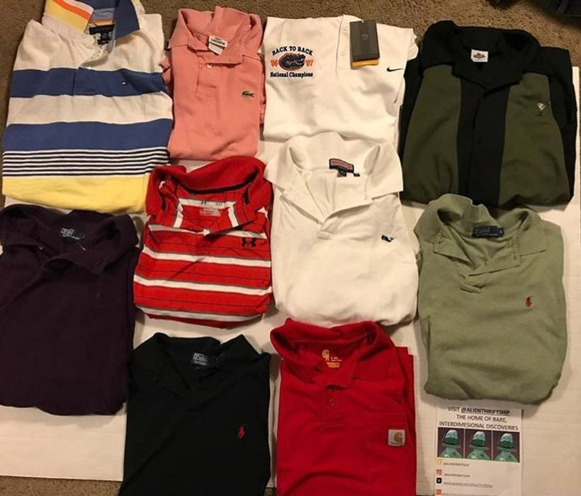 Polo Ralph Lauren Vintage Polo Shirt Bundle Polo Ralph Lauren Retro Tommy  Hilfiger Carhart Carhartt Lacoste b5ca4db3cede