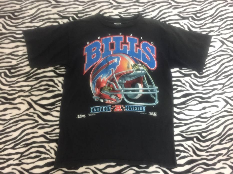 2220ca8d3 Vintage Vintage 90s Buffalo Bills NFL Super Bowl Football T Shirt  Streetwear Size US L