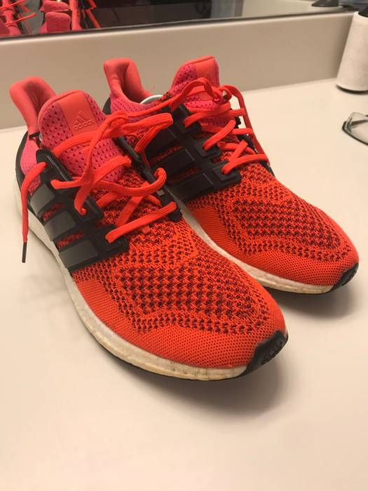 fa95ba2a20f7b Adidas Solar Red Ultraboost 1.0 Size 10.5 - Low-Top Sneakers for ...