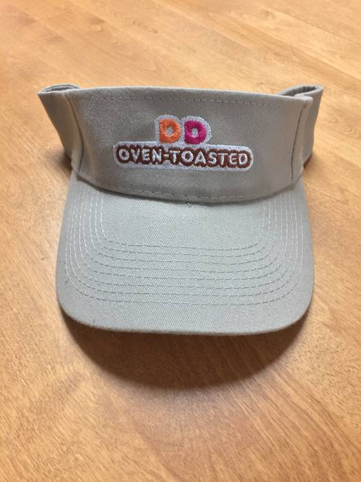 Other Dunkin  Donuts Visor Hat DD Oven Toasted Size one size - Hats ... 4c208ffa3e93