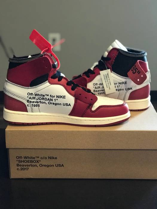 569a05c86732c1 Nike Off White Air Jordan 1 Size 8.5 - Hi-Top Sneakers for Sale ...