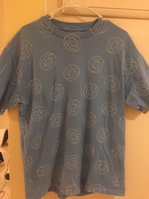 b0eea8f947f Golf Wang Odd Future All Over Donut Print Shirt Size l - Short ...