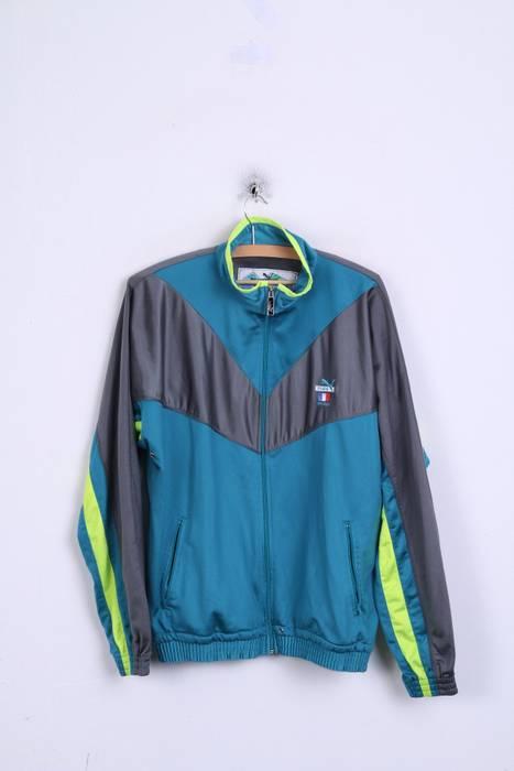 Puma. Puma International Mens 38 S Sweatshirt Turquoise France Tracksuit ... b5ebf06f3ab12
