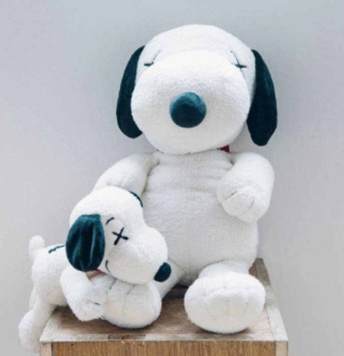 Uniqlo Kaws Snoopy Plush Toy Small Size One Size Supreme For Sale