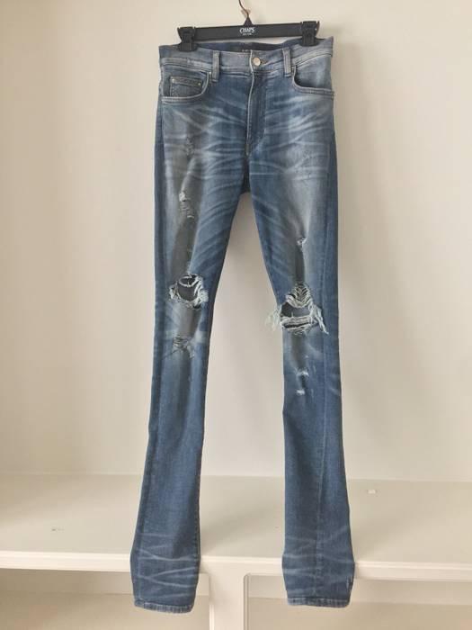 a3a1ca3bf1d Amiri Amiri Thrasher Jeans Classic Indigo Size 30 - Denim for Sale ...