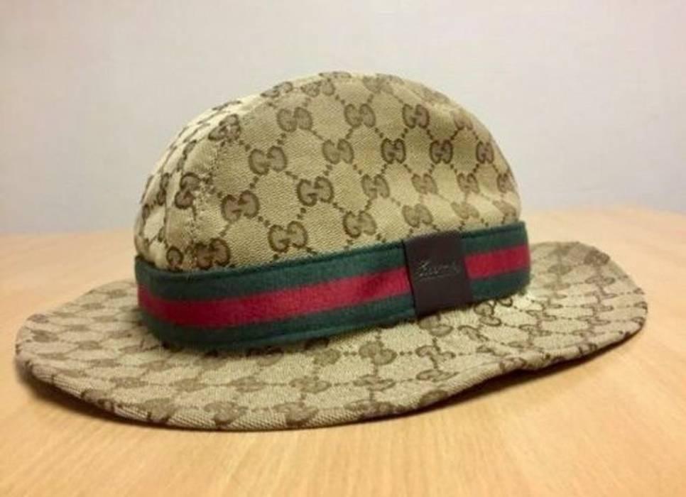 Gucci Gucci fedora bucket hat Size Medium M Authentic Logo Man s ... 9df988deb8df