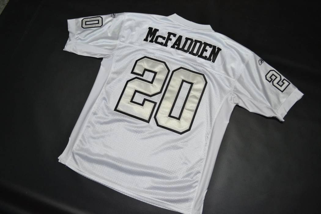 612e695fe Reebok Raiders Darren McFadden  20 NFL Jersey size 48 Football ...