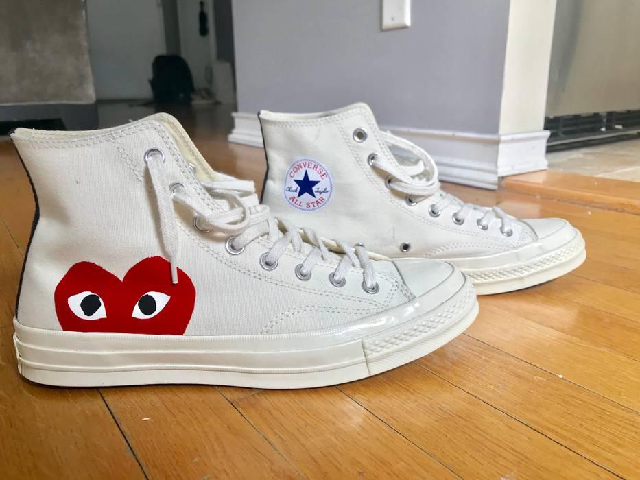 8ae105c6b222 Converse Comme des Garçons PLAY x Converse Chuck Taylor® - Hidden Heart  High Top Sneaker