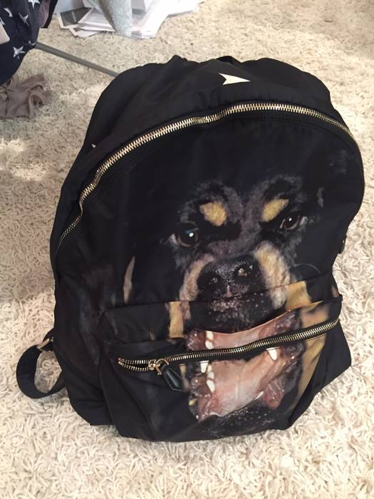 06e15ef90e07 Givenchy GIVENCHY ROTTWEILER BACKPACK Size one size - Bags   Luggage ...