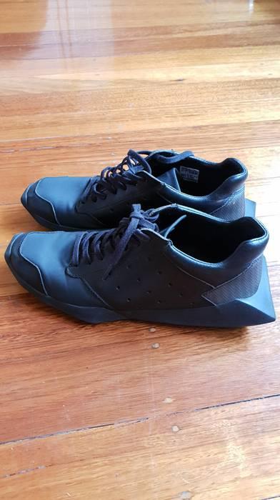 size 40 1e724 921fa Adidas Rick Owens x Adidas Tech Runners triple black Size US 8.5   EU 41-