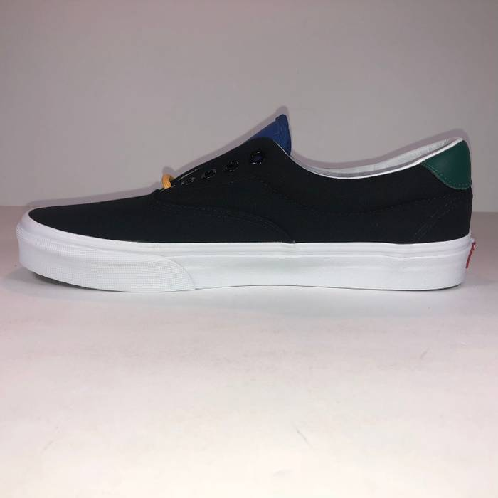 f47d52cdec9 Vans Vans Era 59 Yacht Club Black   White Lace Up Shoes Size 8 - Low ...