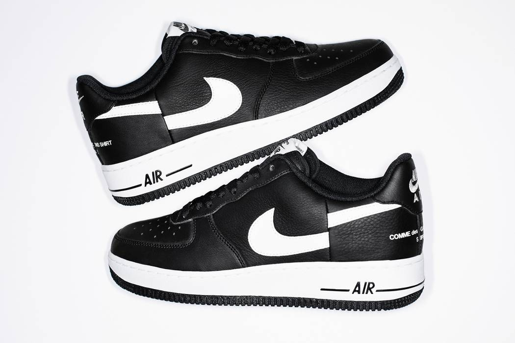 Supreme Supreme CdG Nike Air Force 1 Low Size 9.5 - Low-Top Sneakers ... d080b9621