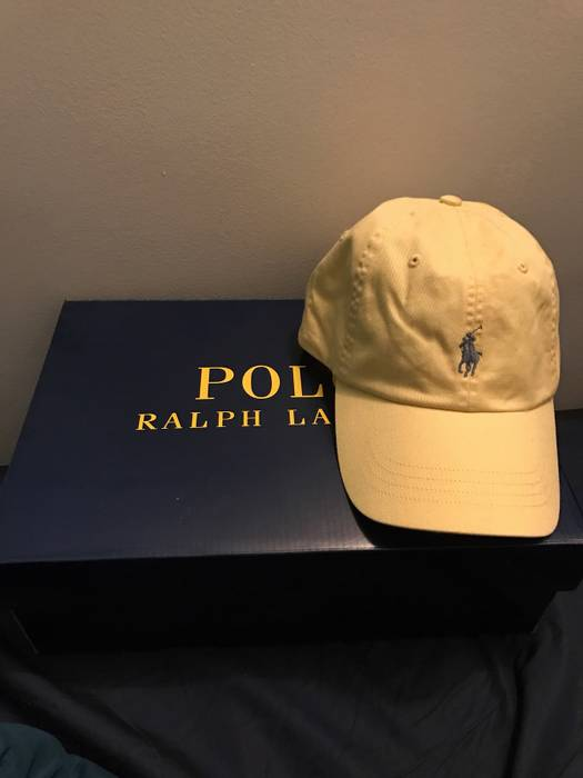 Polo Ralph Lauren Polo Cotton Chino Baseball Cap Size one size ... c50e44ad363