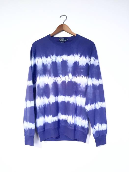 Polo Ralph Lauren Tie Dye Crew Neck Sweatshirt Size s - Sweatshirts ... 3cf5e8f3e55