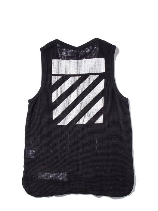 Off White Tank Top Size M Short Sleeve T Shirts For Sale Grailed