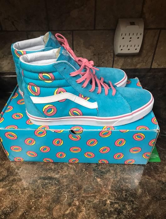 """e16f2882c9 Vans Vans Sk8-Hi """"Odd Future Donut"""" Size 10.5 - Hi-Top Sneakers for ..."""