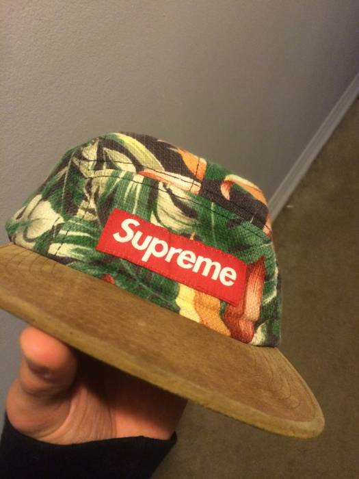d1475f27567 Supreme Supreme Floral Camp Cap SS12 Size one size - Hats for Sale ...